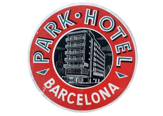 Etiquette Park Hotel Barcelona