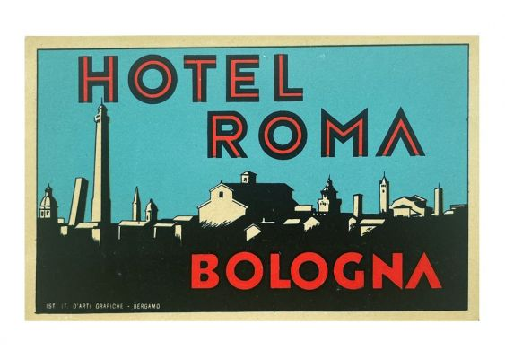 Etiquette Hotel Roma Bologne