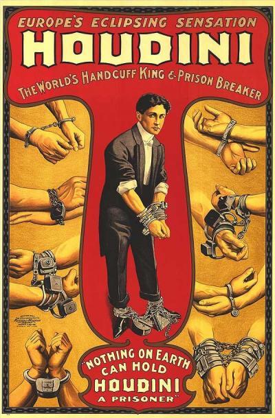 Le défi du grand Houdini